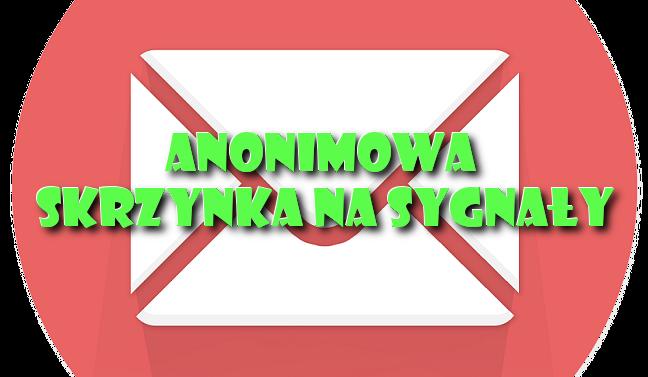 Anonimowa skrzynka na sygnały